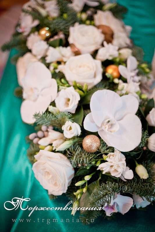 """свадьба зимой в изумрудном цвете - фото 8385956 Студия декора и флористики """"Торжествомания"""""""