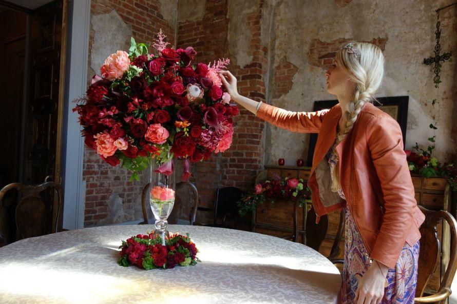 Для цветочные композиции на стол спб искусственные