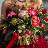 Букет невесты Garden style