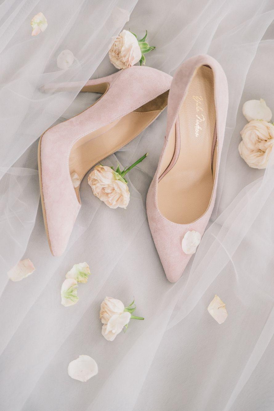 """Туфли """"Пудровые розы"""""""