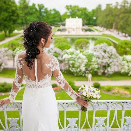 Свадебный макияж + прическа + выезд