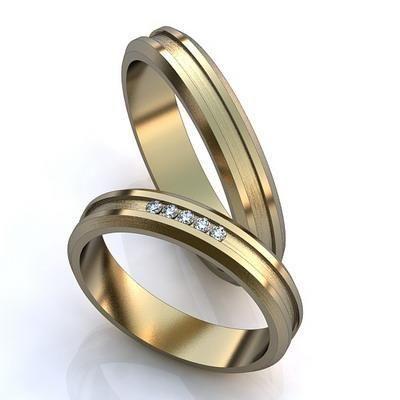 Фото 7894762 в коллекции Обручальные кольца на заказ - ПяточкинЪ - изготовление ювелирных изделий