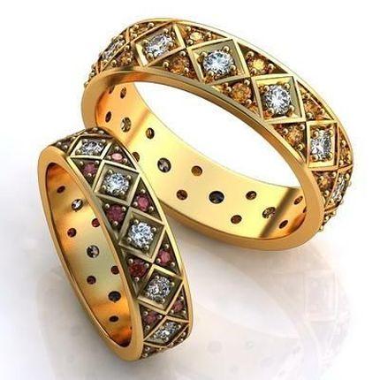 Эксклюзивные парные кольца