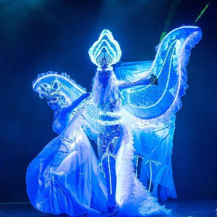 Световое шоу экстрим балет Fireangels - 2 артиста