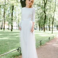 """""""Сердечные узоры"""" сдержанное платье с геометричным рисунком кружева и воздушной юбкой  размер 42, 44 32000"""