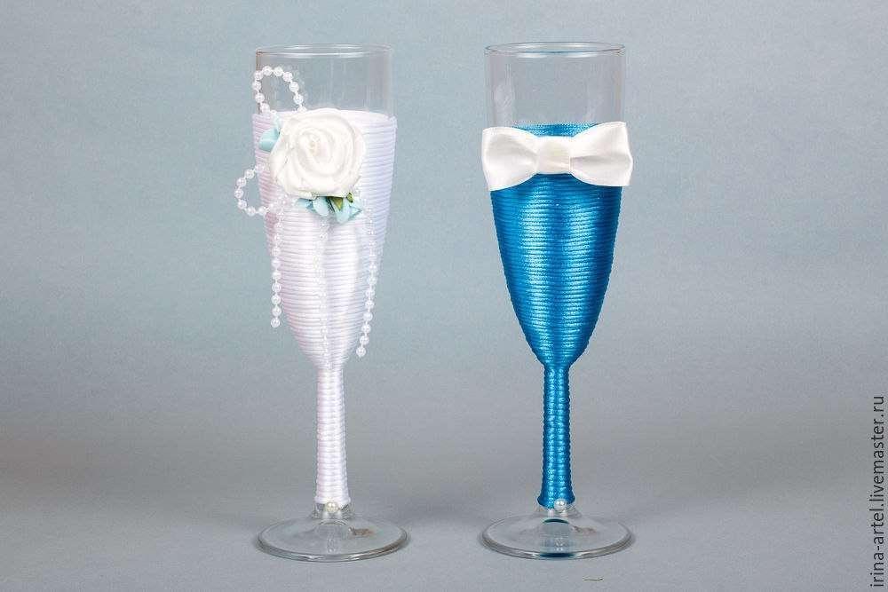 Свадебный бокал для жениха