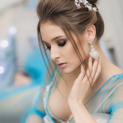 Свадебный образ - макияж + прическа