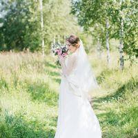 Свадьба в стиле рустик Эко-прованс Прованс Лаванда Лиловый Фиолетовый Розовый Букет невесты Букет растрепыш Букет невесты в стиле прованс