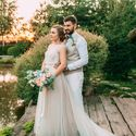 Розово-голубая свадьба Мини-отель Таежный Букет невесты