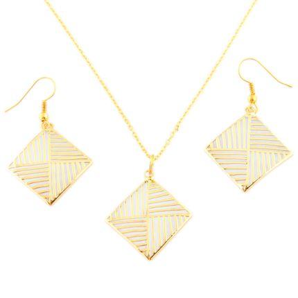 Комплект Пирамида из жемчужной ракушки