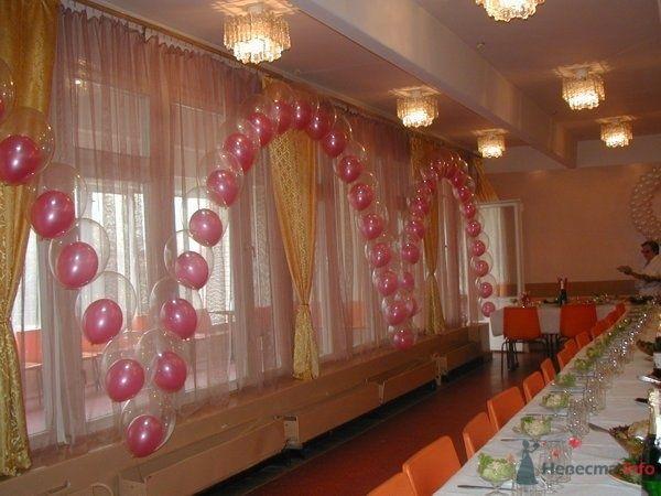 """Цепочка """"шар в шаре"""" - фото 28630 Фабрика Шаров - оформление воздушными шарами"""