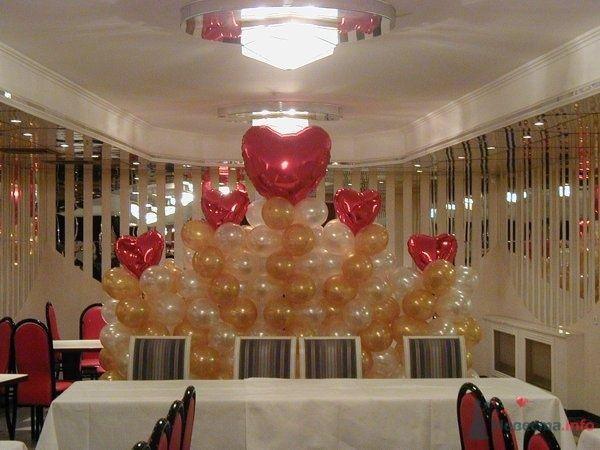Композиция из шаров - фото 28635 Фабрика Шаров - оформление воздушными шарами