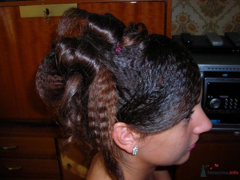 Вечерняя причёска. - фото 28384 Снежиночка