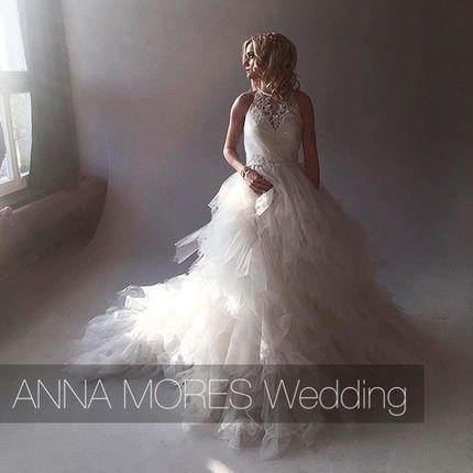 Пышное платье от дизайнера Anna Mores