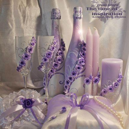 """Свадебный набор """"Violet"""""""
