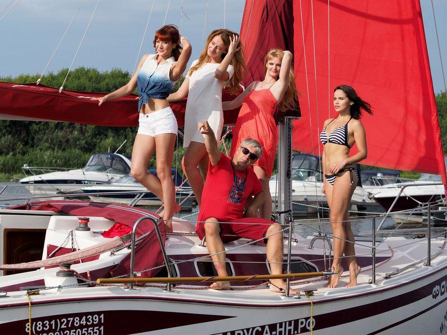 Фото 13530172 в коллекции Аренда парусной яхты с алыми парусами для фотосессий - Аренда яхты Паруса-нн