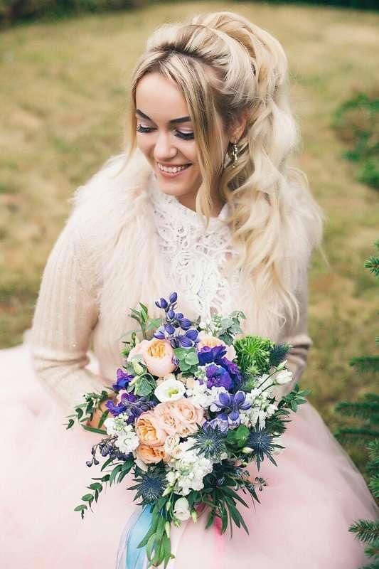 Свадьба Аси и Артема Фото: Алла Казабекова  Место: Гнездо Аиста - фото 13617554 Стилист Ната Андреева