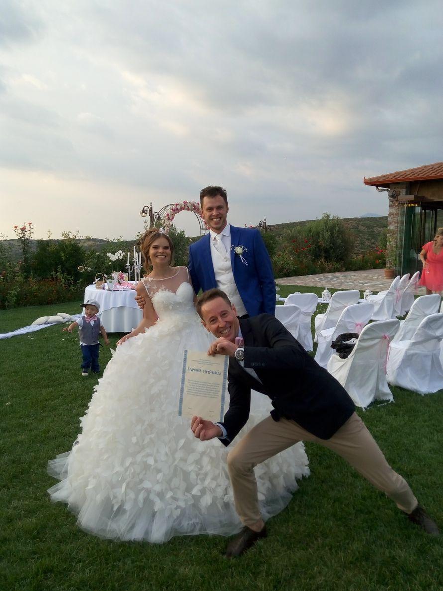 Всегда есть человек, который проведёт вашу свадьбу, и испортит фотографию.)))) - фото 11904266 Ведущий Руслан Урманов