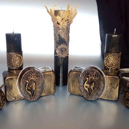Свечи на столы гостей