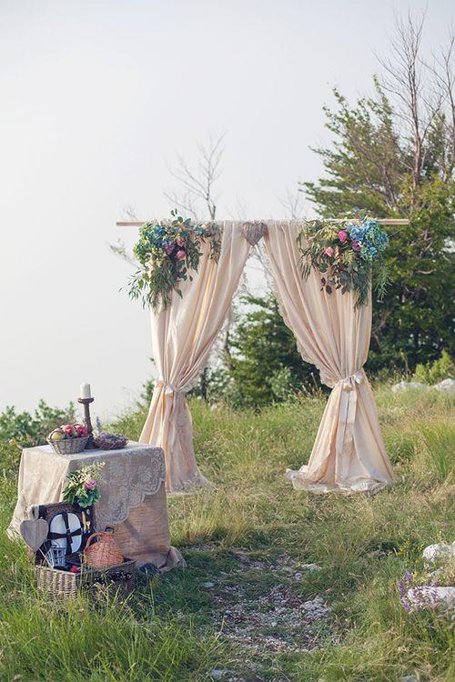 арка для церимонии