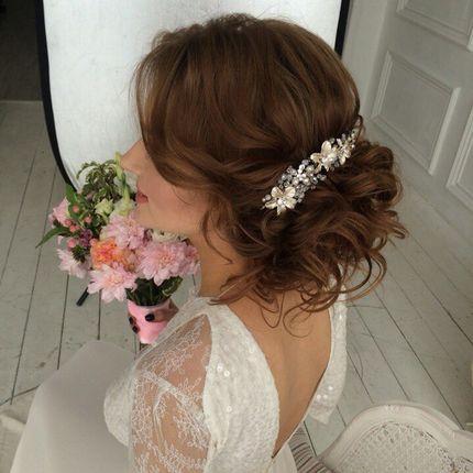 Гребень для прически невесты