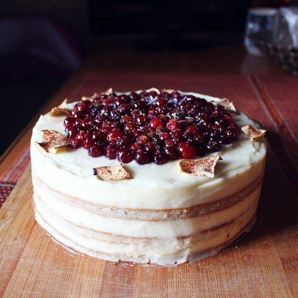 Торт на год с фруктами фото 5