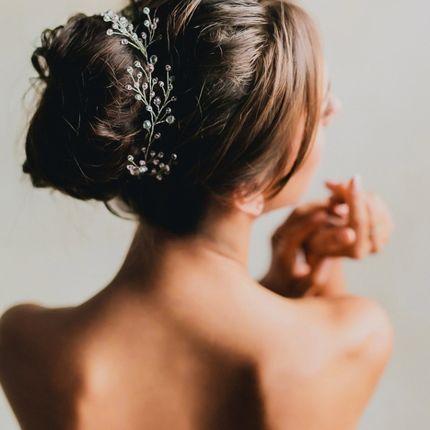 Пробный свадебный образ - макияж и причёска