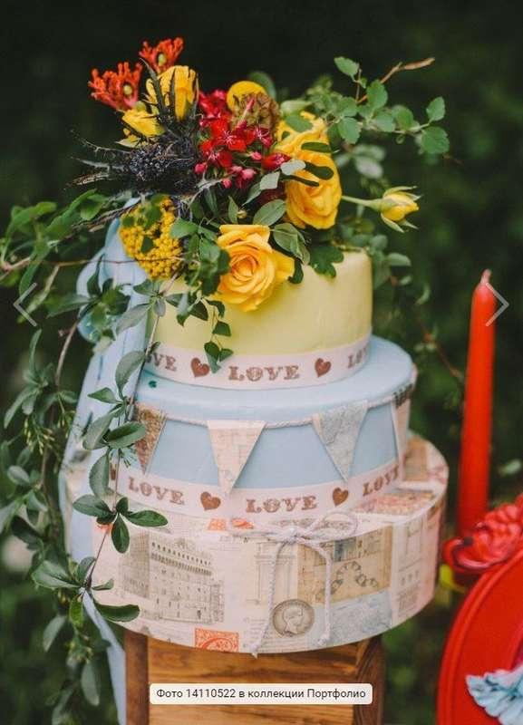 торт для путешествий :) - фото 14347398 Аня Щербакова