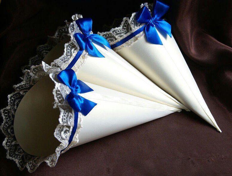 Кулёчки для лепестков на свадьбу своими руками