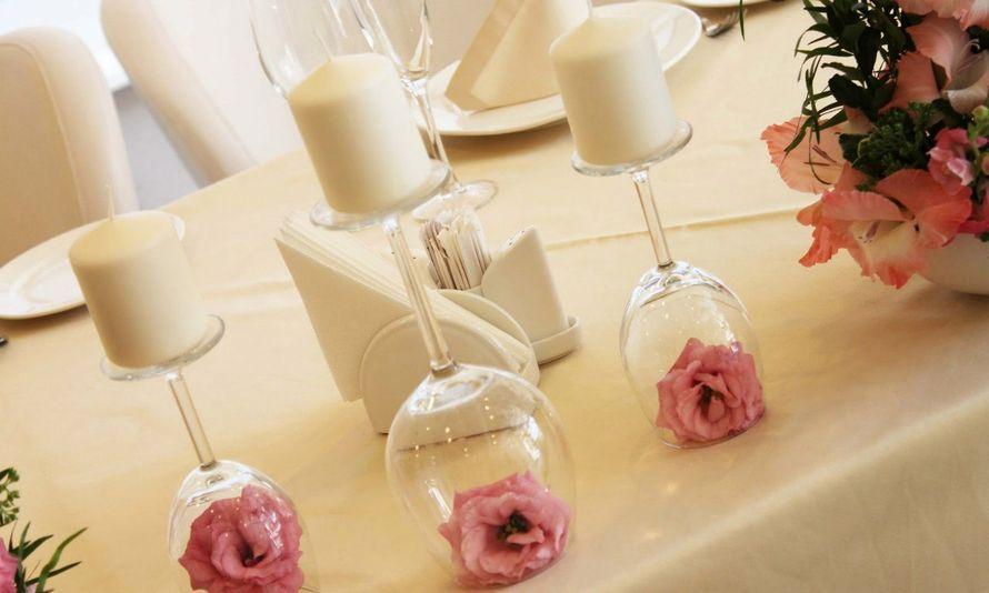 Украсить стол своими руками цветы 967