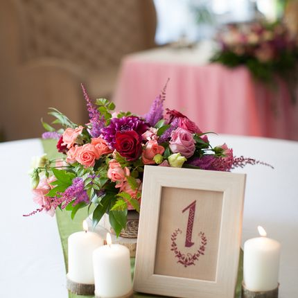 Композиции на столы гостей, цена за 1 шт