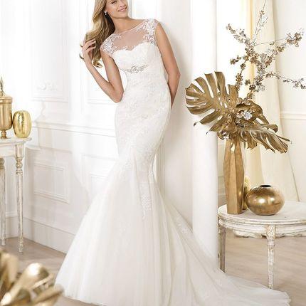 Свадебное платье Pronovias Leonde