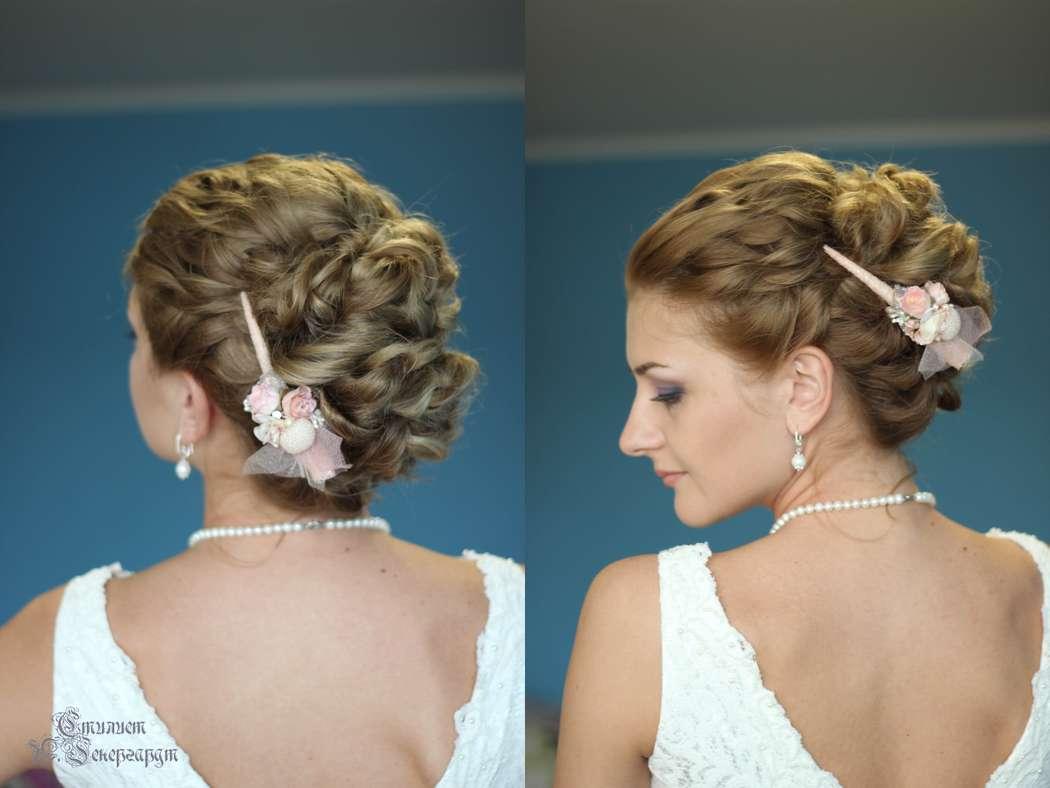 Прическа на волос до лопаток фото