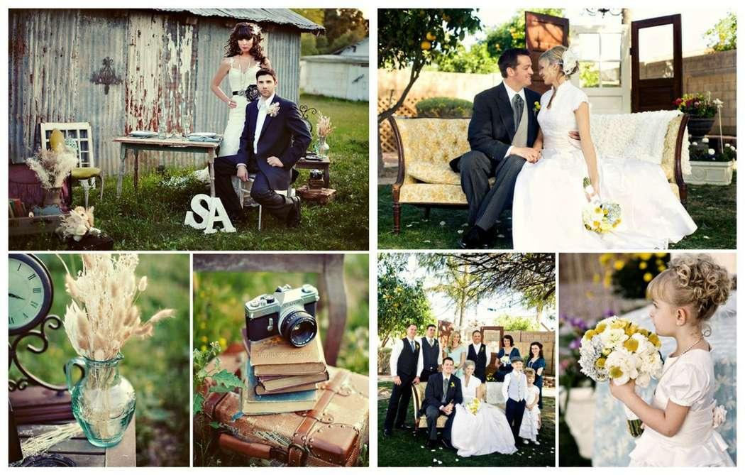 Фото 8906454 в коллекции Винтажная свадьба - Vanil-Decor - организация мероприятия