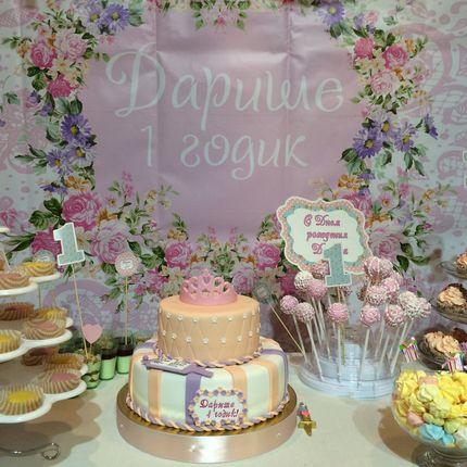 Свадебный Торт, оформление сладкого стола