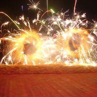 Огненно-пиротехническая шоу программа