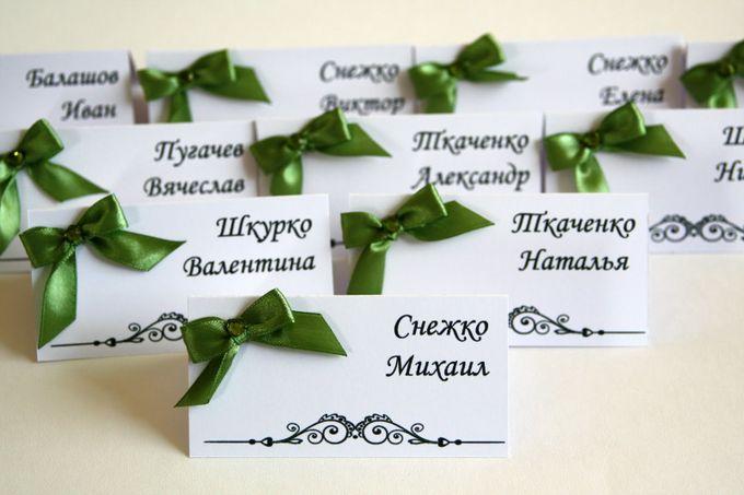 Рассадка карточки на свадьбу своими руками