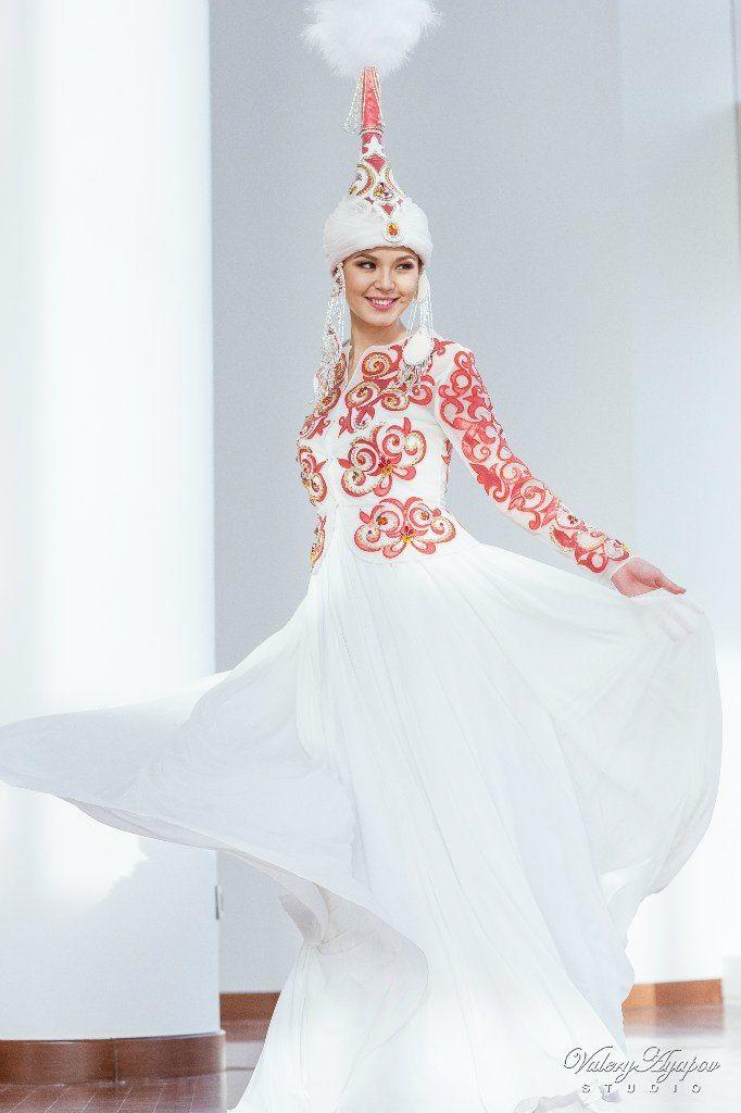 Казахское свадебное платье на кыз узату Алиша - фото 9051042 Салон казахских свадебных платьев Золотая пуговица