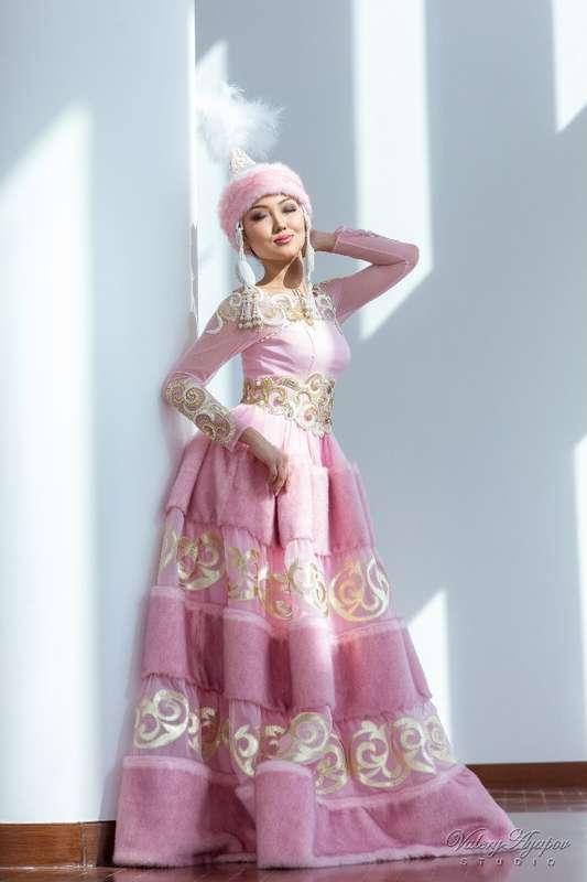 Казахское свадебное платье на кыз узату - фото 9051056 Салон казахских свадебных платьев Золотая пуговица