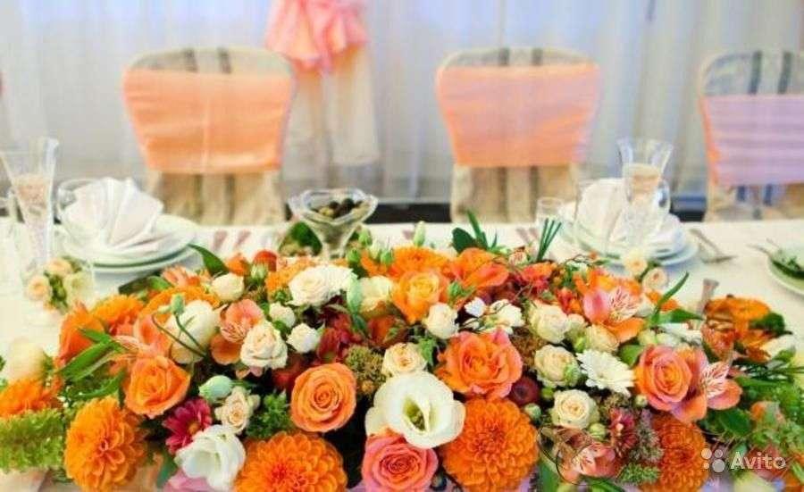 Свадьбв в апельсиновых тонах - фото 9061420 PROТюльпанъ - флористика и декор