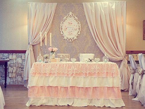 Вариант оформления Ванильной свадьбы. - фото 9061428 PROТюльпанъ - флористика и декор