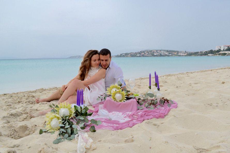 Декор для Love Story на пляже