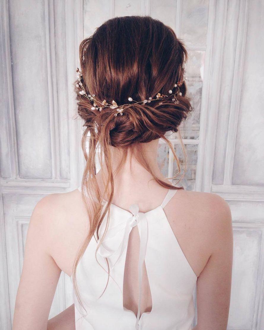 Причёска для невесты без репетиции
