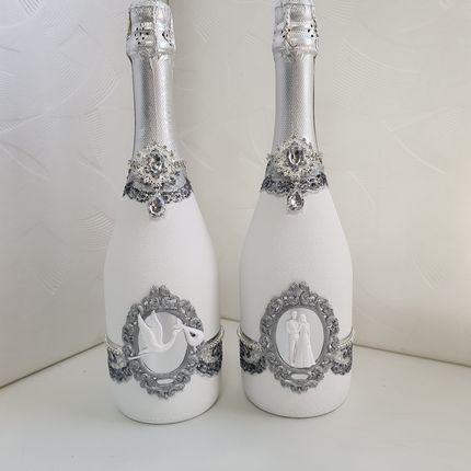 Свадебные бутылочки