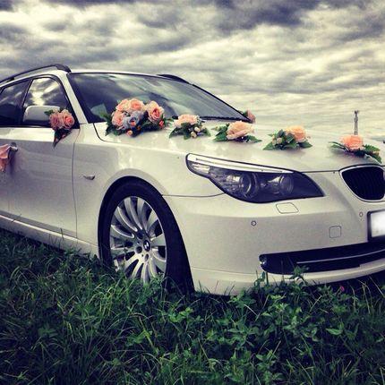 Свадебный автомобиль BMW 5 Series