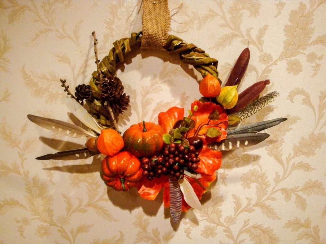 Осенний венок - фото 9450214 Мастерская флорариумов Юлии Шумилкиной