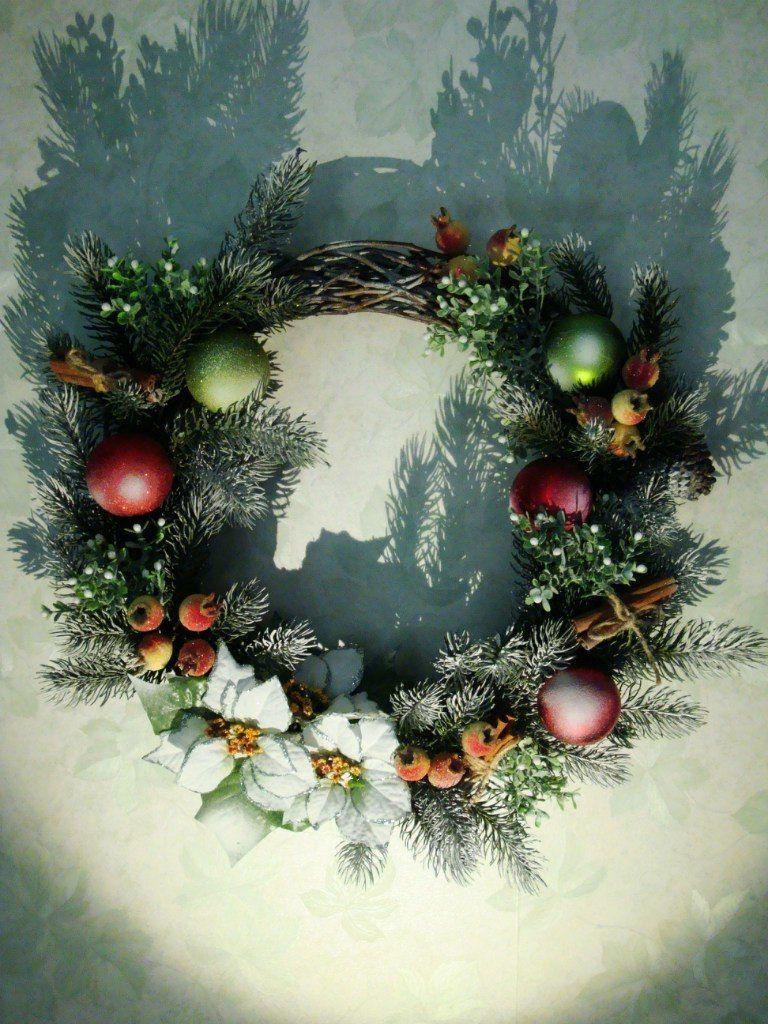 Рождественский венок - фото 9450226 Мастерская флорариумов Юлии Шумилкиной