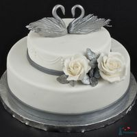 """Торт """"Серебряный век""""Б выполненный в классическом стиле"""
