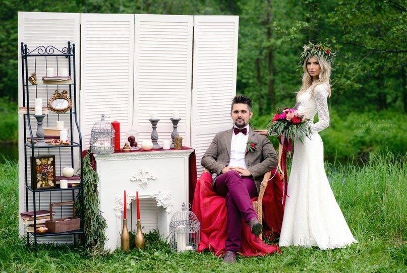 """Фото 10061110 в коллекции наши свадьбы :) - Студия флористики и декора """"Florissimo!"""""""