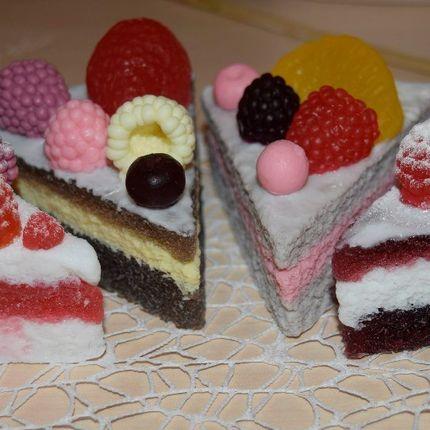 Мыло в виде тортика